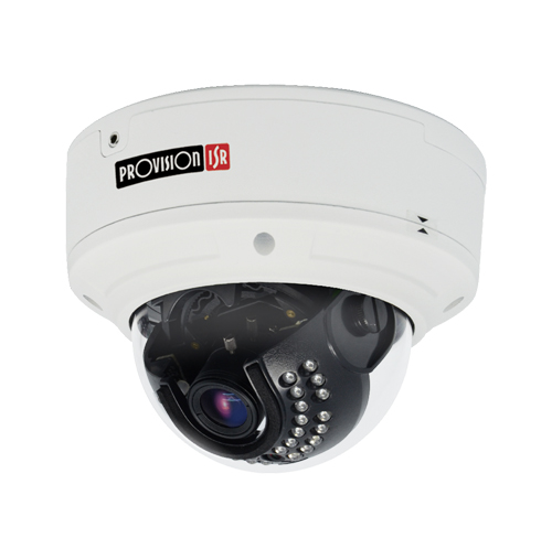5MP Provision Vandaalbestendige Dome Camera H.265 met Analytics